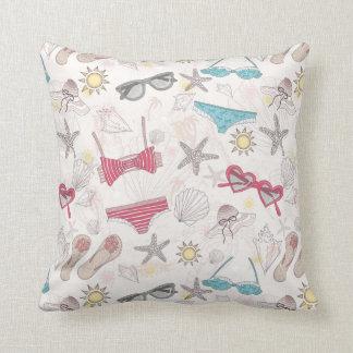 Cute Summer Abstract Pattern Cushion