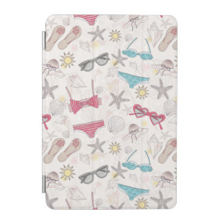Cute Summer Abstract Pattern iPad Mini Cover