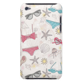 Cute Summer Abstract Pattern iPod Touch Cases