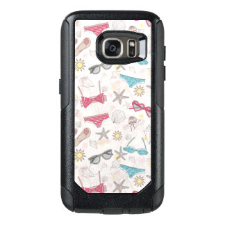 Cute Summer Abstract Pattern OtterBox Samsung Galaxy S7 Case
