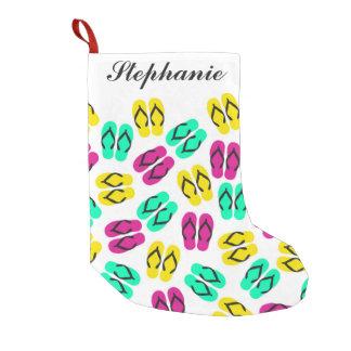 Cute Summer Neon Flip Flops Pattern