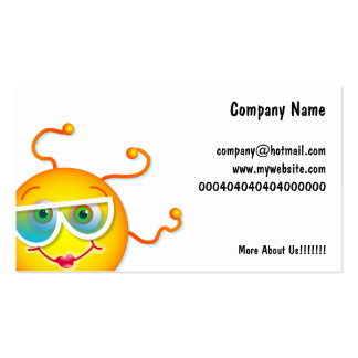 Cute Sun, Business Card Template