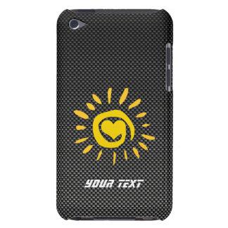 Cute Sun; Faux Carbon Fiber Case-Mate iPod Touch Case