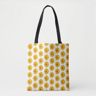 Cute sun flower,Branch of flowers double sided bag