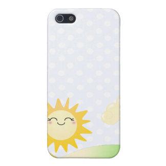 Cute sun kawaii cartoon iPhone 5 case