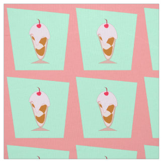 Cute Sundae Fabric