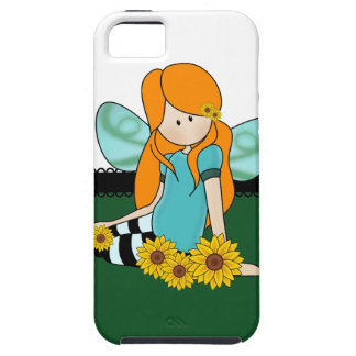 Cute Sunflower Girl iPhone 5 Covers