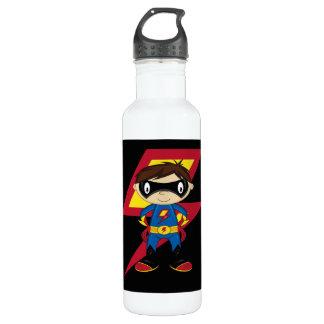 Cute Superhero Boy 710 Ml Water Bottle