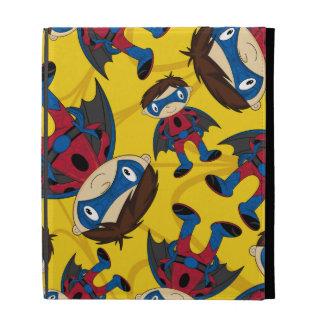 Cute Superhero Boy iPad Cases