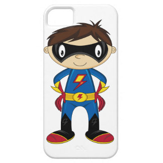 Cute Superhero Boy iphone Case