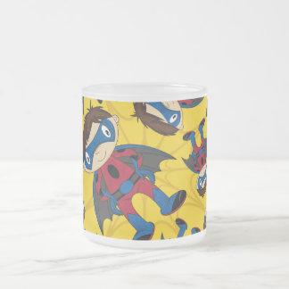 Cute Superhero Boy Pattern Mugs