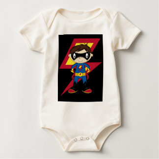 Cute Superhero Boy Bodysuits
