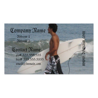 Cute Surfer Business Cards