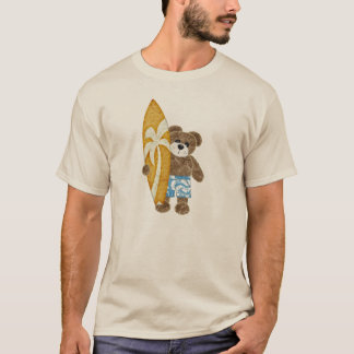 Cute surfer teddy bear T-Shirt