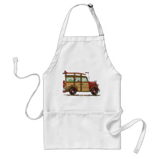 Cute Surfing Woody Aprons