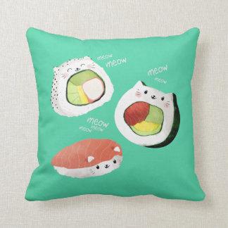 Cute Sushi Cat Cushion