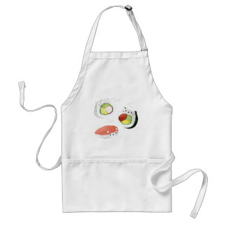 Cute Sushi Cat Standard Apron