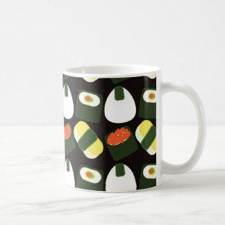 Cute Sushi Pattern Coffee Mug