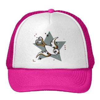 Cute Swallow Tattoo Trucker Hat! Cap