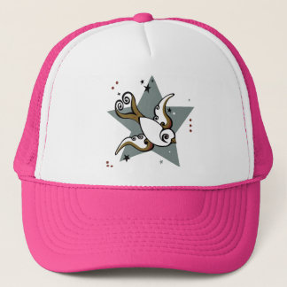 Cute Swallow Tattoo Trucker Hat! Trucker Hat