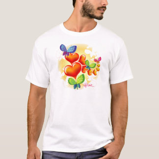 Cute Sweet Colorfull Summer Love Friendship T-Shirt