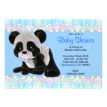 CUTE Sweet Plush Baby Panda Bear Baby Shower Invitation