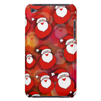 Cute, sweet Santa Claus with gifts. Christmas Red. iPod Case-Mate Cases