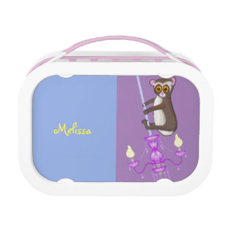 Cute swinging Loris Lunch Box