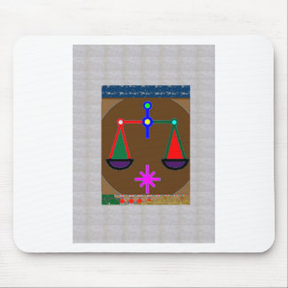 CUTE Symbolic Template Zodiac Astrology Goodluck Mouse Pad