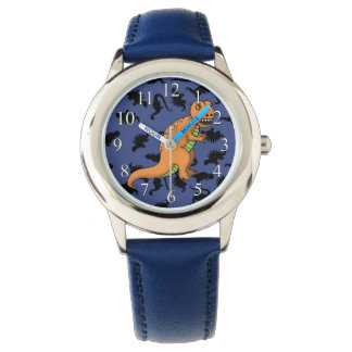 Cute T-Rex Kids Watch