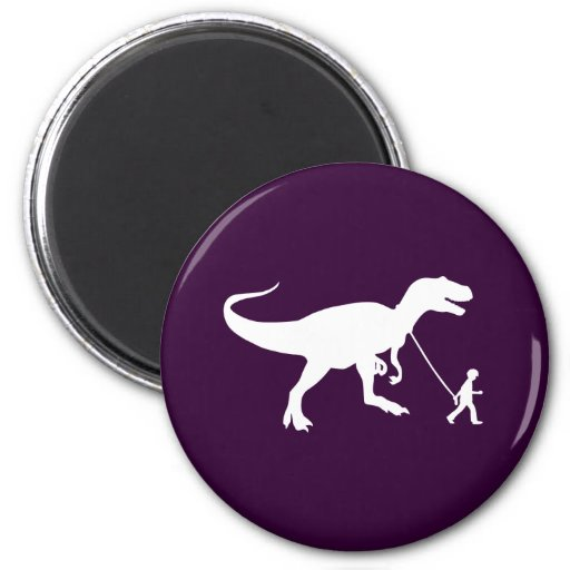 Cute T-rex Pet Refrigerator Magnet