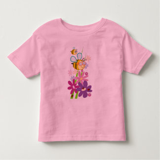 Cute t-shirt with bumble bees