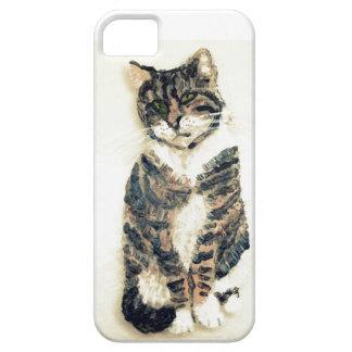Cute Tabby Cat Art iPhone 5 Cover