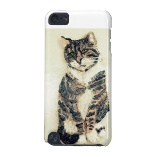 Cute Tabby Cat Art iPod Touch 5G Cover