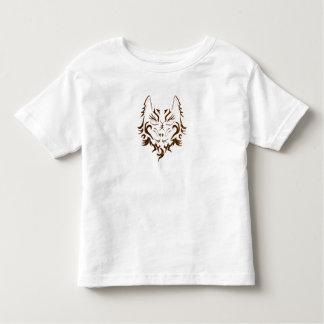 CUTE TATTOO GOLDEN WOLF PRINT FOR BOY OR GIRL TODDLER T-Shirt