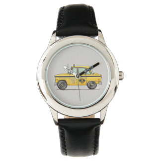 Cute Taxi Cab Watches