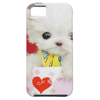 cute tea cup puppy iPhone 5 cover