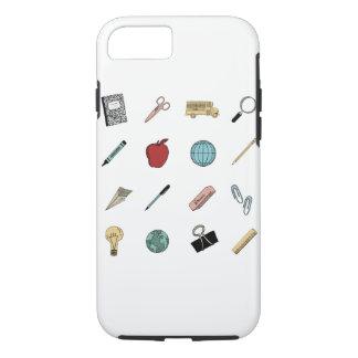 Cute Teachers School Supplies iPhone 8/7 Case
