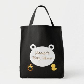 Cute Teddy Bear Baby Shower Tote Bag