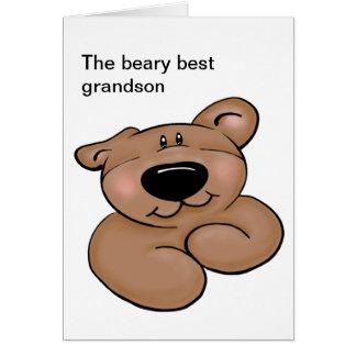 Cute Teddy Bear Birthday Greeting Card