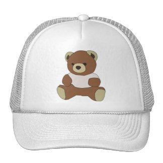 Cute Teddy Bear Cap
