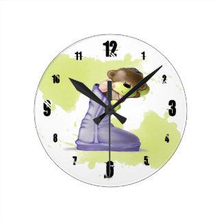 Cute Teddy Bear Clock