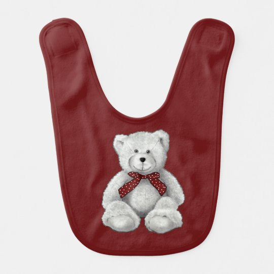Cute Teddy Bear Drawing, Bear in Pencil Bib