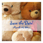 Cute Teddy Bear Friends Announcements