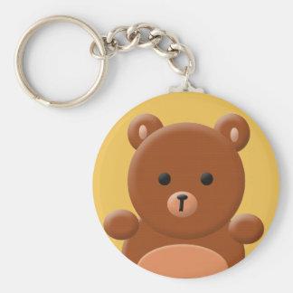 Cute teddy bear key chain