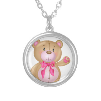 Cute Teddy Bear Pendants