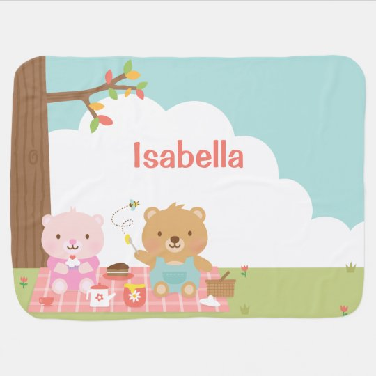 Cute Teddy Bear Picnic Party Outdoor For Babies