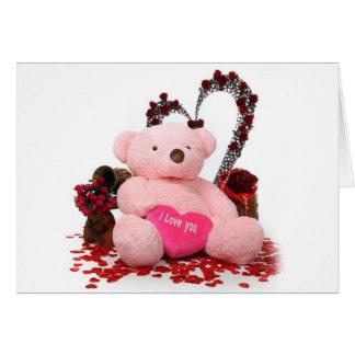 Cute Teddy Bear Products Greeting Card