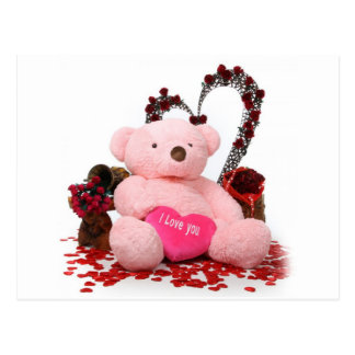 Cute Teddy Bear Products Postcard