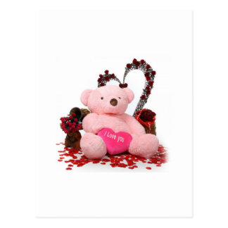 Cute Teddy Bear Products Postcard